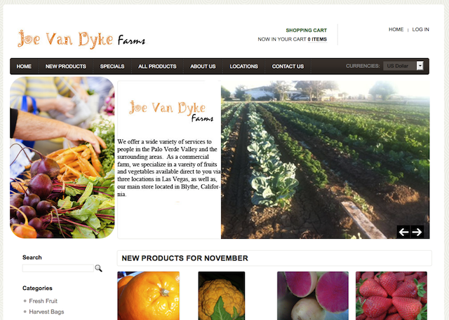 Joe Van Dyke Farms